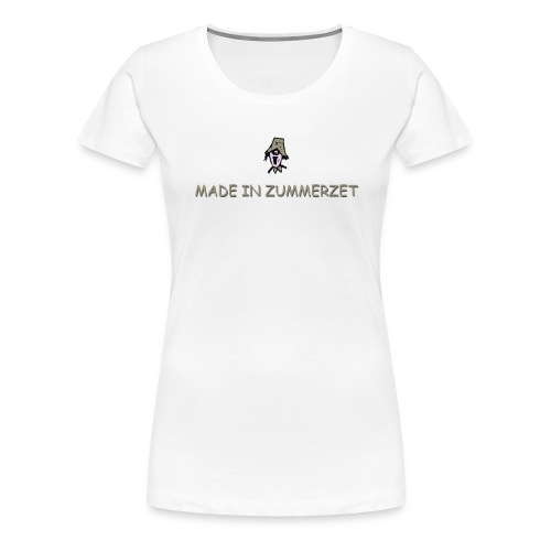 made in zummerzet plus size t-shirt - Women's Premium T-Shirt