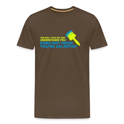 No Artist - Männer Premium T-Shirt