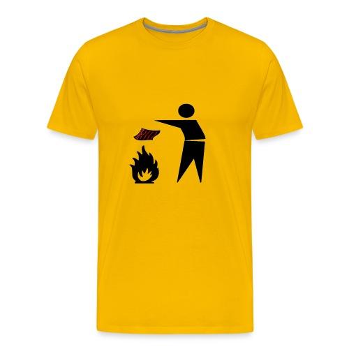 Zeugnis verbrennen - Männer Premium T-Shirt