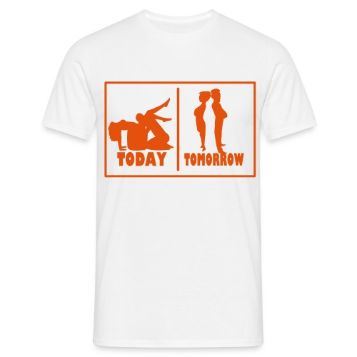 T-Shirt Mariage - Aujourd'hui - Demain - T-shirt Homme