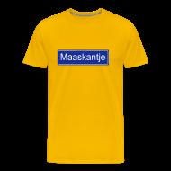 T-shirts ~ Mannen Premium T-shirt ~ Maaskantje