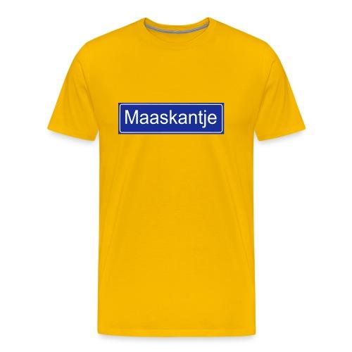 Maaskantje - Mannen Premium T-shirt
