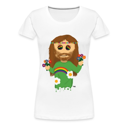 Flower Power - Vrouwen Premium T-shirt