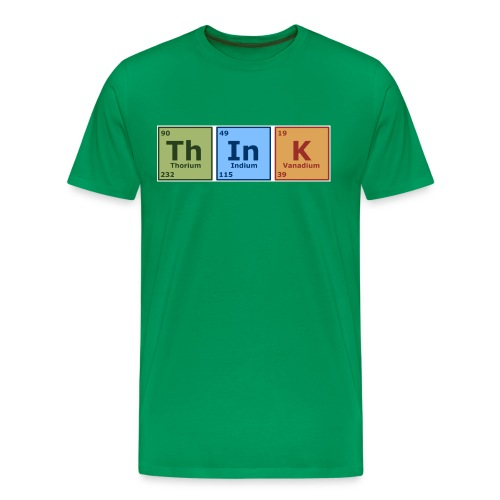 Think T-Shirt - Men's Premium T-Shirt