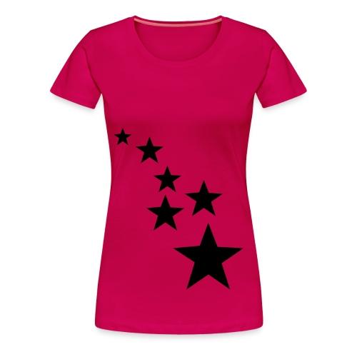 Tee-Shirt etoile pour femme - T-shirt Premium Femme