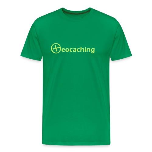 Geocaching T-Shirt - Tolles Geschenk für Geocacher! - Männer Premium T-Shirt