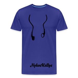 i Like Music By Nykos Kellys  - Men's Premium T-Shirt
