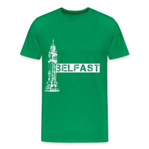 Albert Clock Belfast - Men's Premium T-Shirt
