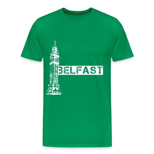 Albert Clock Belfast - Men's Premium T-Shirt