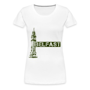 Albert Clock Belfast - Women's Premium T-Shirt