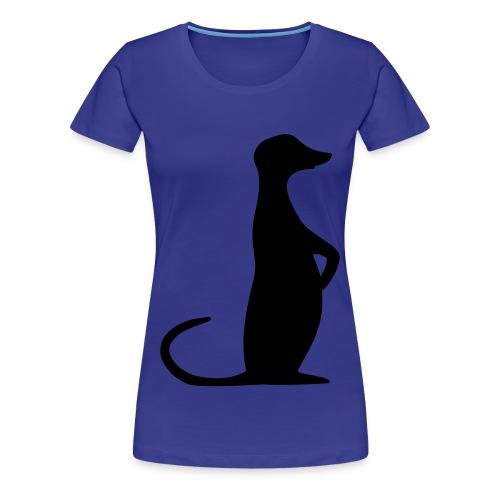 T-Shirt für Erdweibchen - Frauen Premium T-Shirt
