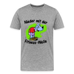 Die Fitnesswelle - Männer Premium T-Shirt