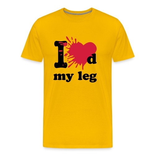 I loved my leg - Men's Premium T-Shirt