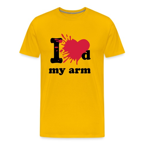 I loved my arm - Men's Premium T-Shirt