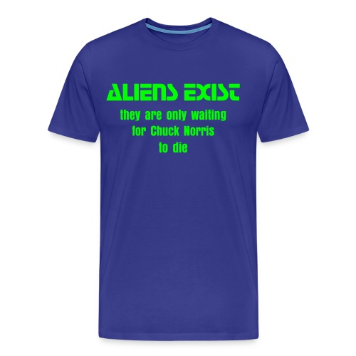 Aliens exist - Men's Premium T-Shirt