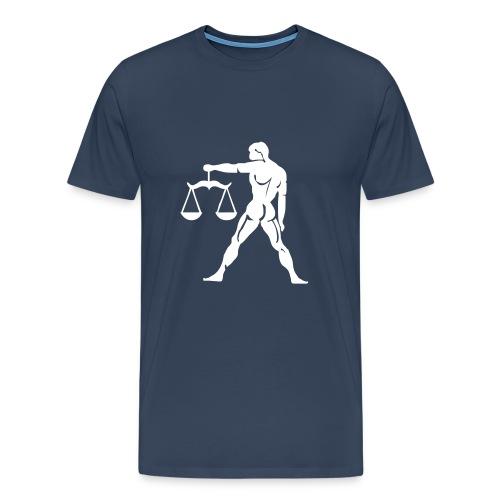 Vaaka - Miesten premium t-paita