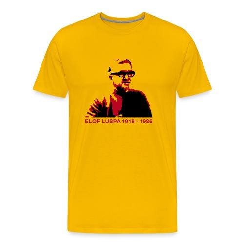 Elof Luspa - T-shirt - Herr - Premium-T-shirt herr