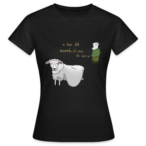 Vombiskinntrøya, jente - T-skjorte for kvinner