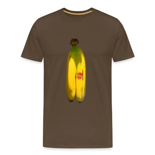 Banana Twins - Premium-T-shirt herr