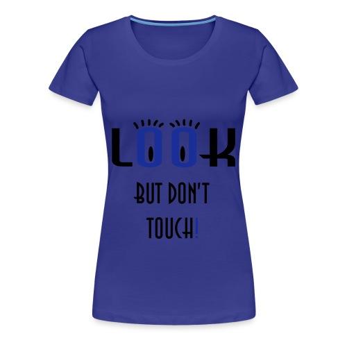 simple blue shirt - Women's Premium T-Shirt