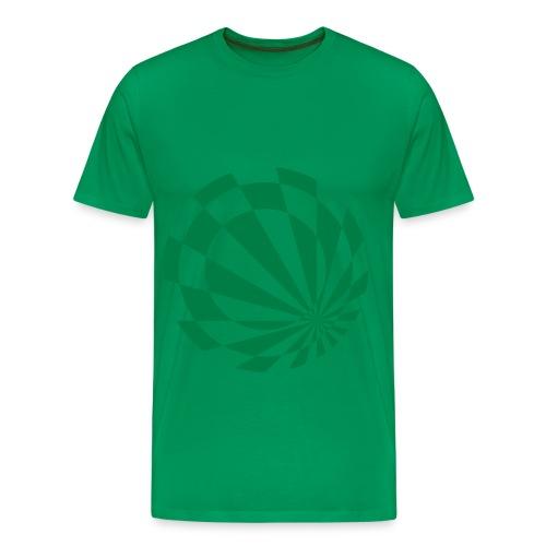 Beelo Circle3 Bottlegreen - Männer Premium T-Shirt
