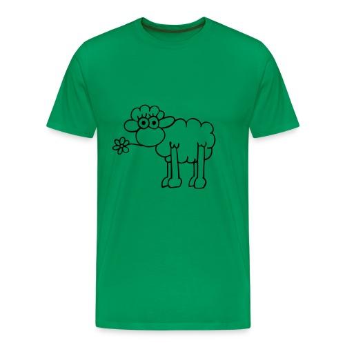 Fåret Shawn - Premium-T-shirt herr