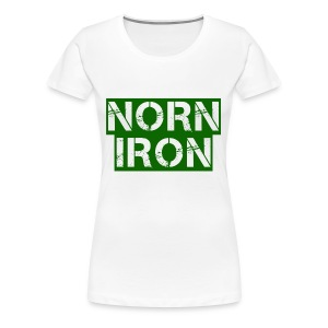 Norn Iron - Women's Premium T-Shirt