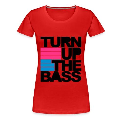 Damer girlie shirt hardstyle  - Dame premium T-shirt