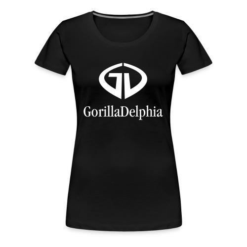 GD Black Bio-Tshirt - Frauen Premium T-Shirt