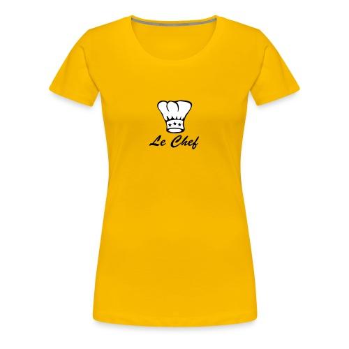 chef - T-shirt Premium Femme