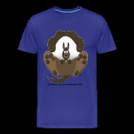 Tee shirts ~ T-shirt Premium Homme ~ Kangourou homme bleu vert