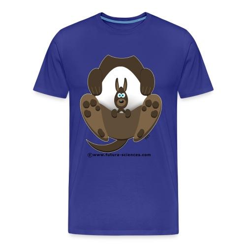 Kangourou homme bleu vert - T-shirt Premium Homme