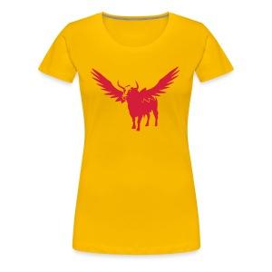 Después la muerte t shirt toro - T-shirt Premium Femme