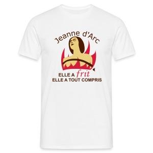 Jeanne d'Arc - Elle a frit - T-shirt Homme