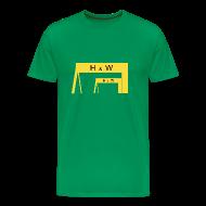 T-Shirts ~ Men's Premium T-Shirt ~ Harland & Wolff Cranes