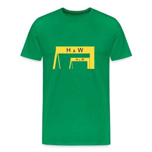 Harland & Wolff Cranes - Men's Premium T-Shirt