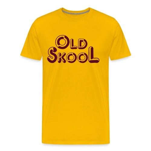 Old Skool SThirt - Mannen Premium T-shirt