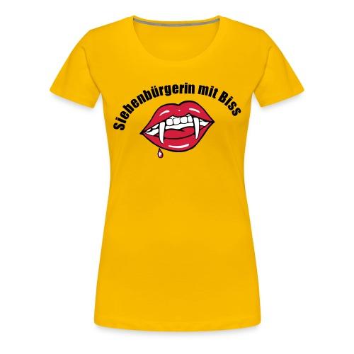 T-Shirt Siebenbürgerin mit Biss - Frauen Premium T-Shirt