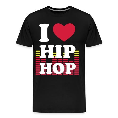 Herr Tröja HipHop - Premium-T-shirt herr