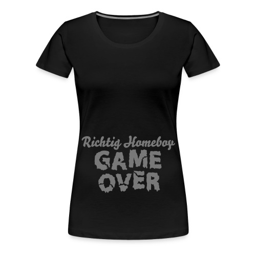 Game Over - Frauen Premium T-Shirt