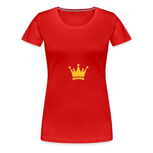 couronne dorée - T-shirt Premium Femme