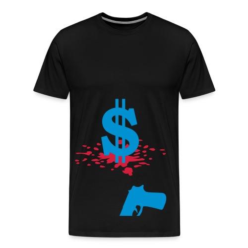 Herr Tröja Dollar - Premium-T-shirt herr
