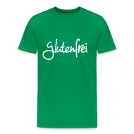 T-Shirts ~ Männer Premium T-Shirt ~ glutenfrei mann t-shirt