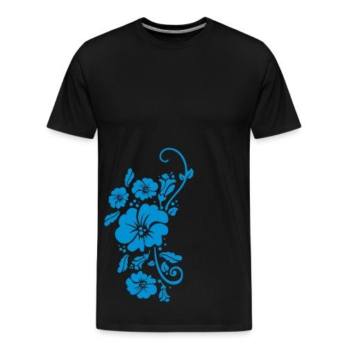 Herr Tröja Flower - Premium-T-shirt herr
