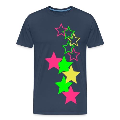 Herr Tröja Stars - Premium-T-shirt herr
