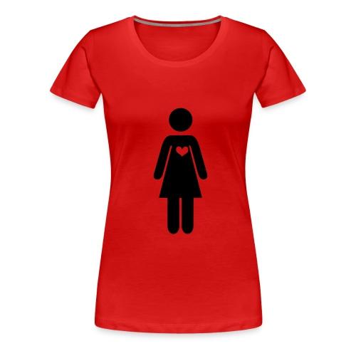 Sairaan-hoitaja - Naisten premium t-paita