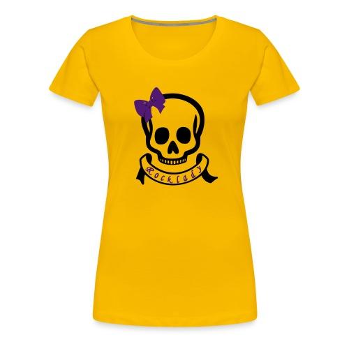 Rock Lady - Frauen Premium T-Shirt