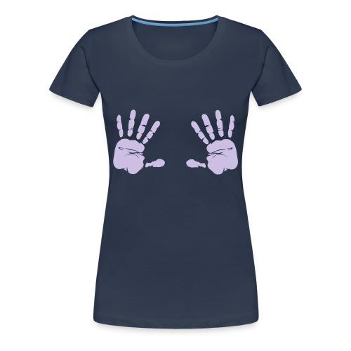 nicht angreifen - Frauen Premium T-Shirt