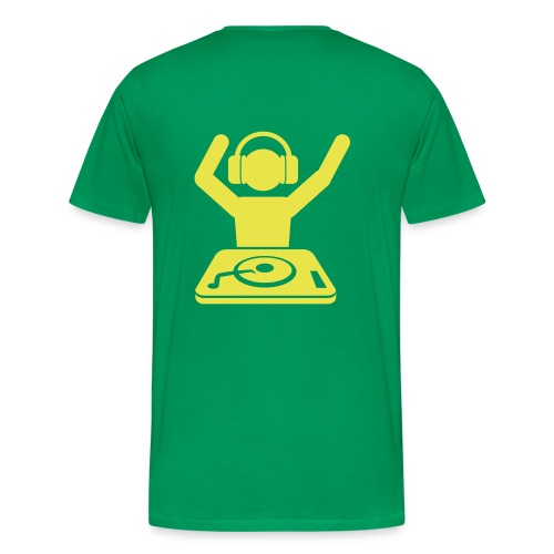 Yello DJ - Men's Premium T-Shirt