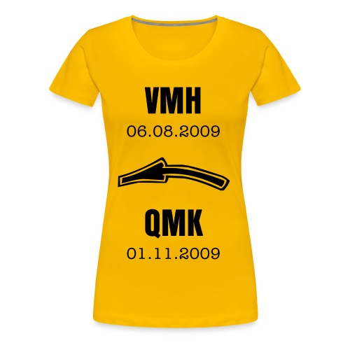 QMK:VMH Girlie-Shirt !LIMITED EDITION! - Frauen Premium T-Shirt